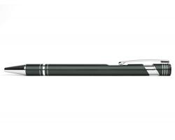AKCE: Kovové kuličkové pero LEICESTER - světle šedá
