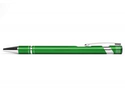 AKCE: Kovové kuličkové pero LEICESTER - zelená