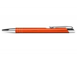 AKCE: Kovové kuličkové pero LIVERPOOL - oranžová