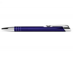 AKCE: Kovové kuličkové pero LIVERPOOL - tmavě fialová