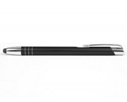 AKCE: Kovové kuličkové pero LIVERPOOL TOUCH se stylusem - černá