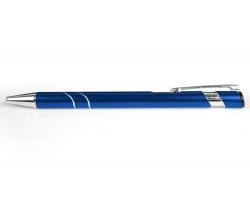 AKCE: Kovové kuličkové pero LEEDS - tmavě modrá