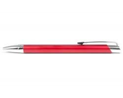 AKCE: Kovové kuličkové pero DERBY - červená