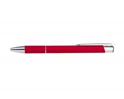 AKCE: Kovové kuličkové pero YORK - červená