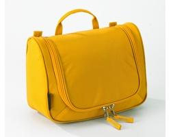 Extra lehká kosmetická taška THOMPSONVILLE II s integrovaným háčkem - žlutá