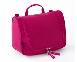 Extra lehká kosmetická taška THOMPSONVILLE II s integrovaným háčkem - růžová