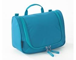 Extra lehká kosmetická taška THOMPSONVILLE II s integrovaným háčkem - tyrkysová