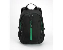 Kompaktní batoh JAILS s vysoce prodyšnými zády - zelená