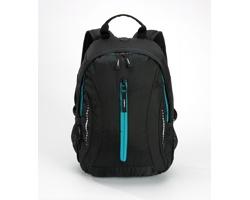 Kompaktní batoh JAILS s vysoce prodyšnými zády - tyrkysová