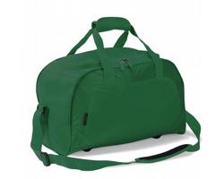 Polyesterová voděodolná sportovní taška VENIN s prostorem pro uložení obuvi - zelená
