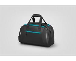 Lehká a odolná sportovní taška CAMB s nastavitelným ramenním popruhem - tyrkysová