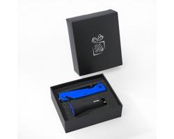 Sada bezpečnostního nástroje do auta SPIREME a LED svítilny - modrá