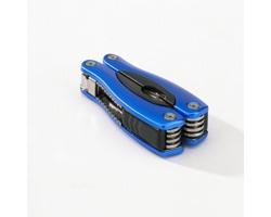 Nerezový multifunkční nástroj TOOLMAN, 9 funkcí - modrá