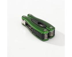 Nerezový multifunkční nástroj TOOLMAN, 9 funkcí - zelená