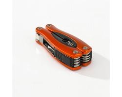 Nerezový multifunkční nástroj TOOLMAN, 9 funkcí - oranžová