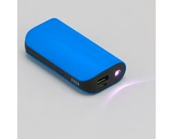 Výkonná powerbanka BETZ se silikonovou úpravou - modrá