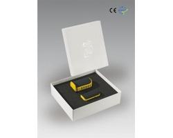 Plastová stolní sada pro dobíjení REDWOOD, 2 komponenty - žlutá