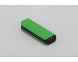 Plastová kapesní powerbanka ROBES - zelená