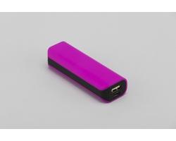 Plastová kapesní powerbanka ROBES - fialová
