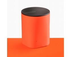 Kompaktní bluetooth reproduktor JUDEX se silikonovou úpravou - oranžová