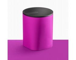 Kompaktní bluetooth reproduktor JUDEX se silikonovou úpravou - fialová