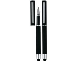 Značkový kovový roller Pierre Cardin CLAUDIE - černá