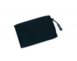 Značková neoprenová outdoorová peněženka Schwarzwolf COIN - černá