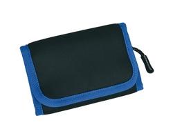 Značková neoprenová outdoorová peněženka Schwarzwolf COIN - modrá