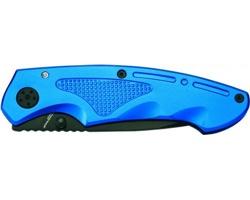 Značkový kovový kapesní nůž Schwarzwolf MATRIX v dárkovém balení - modrá
