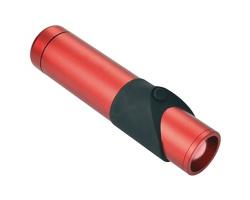 Značková hliníková bezpečnostní kapesní svítilna Schwarzwolf KAPILA - červená