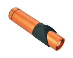 Značková hliníková bezpečnostní kapesní svítilna Schwarzwolf KAPILA - oranžová