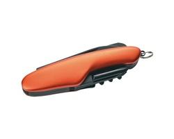 Značkový multifunkční nůž Schwarzwolf CAVALI, 11 funkcí - oranžová