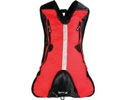 Značkový cyklistický batoh Schwarzwolf ROVER - červená
