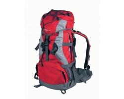 Značkový turistický batoh Schwarzwolf MONZUN, 35 l - červená
