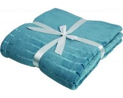 Značková fleecová deka Vanilla Season PONAPE - modrá