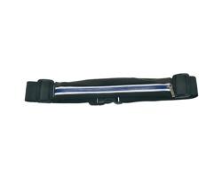 Značkový multifunkční elastický pásek Schwarzwolf RAVIK s voděodolným zipem - modrá