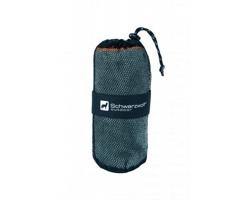 Značkový outdoorový ručník z mikrovlákna Schwarzwolf CITAS - šedá