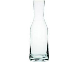 Značková skleněná karafa na vodu Bohemia Crystal Vanilla Season PAPAROA, 1,2 l - transparentní