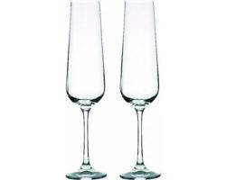 Sada šampusových sklenic Bohemia Crystal Vanilla Season WANGI, 200 ml - transparentní