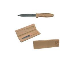 Značkový keramický nůž Vanilla Season FUKUI - hnědá