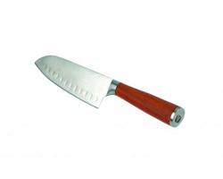 Značkový japonský nerezový kuchyňský nůž Vanilla Season KOBE - stříbrná