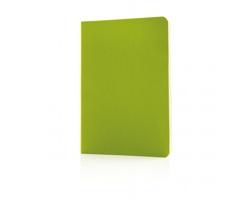 Poznámkový blok v měkké vazbě INCAN se záložku - zelená