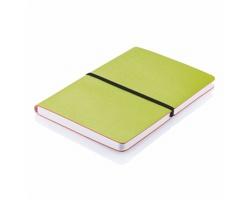 Poznámkový zápisník TIESHA, formát A5 - zelená