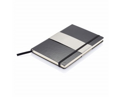 Poznámkový zápisník CAMDEN, formát A5 - černá