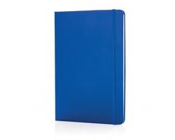 Poznámkový blok v tvrdých deskách BEREA, formát A5 - modrá