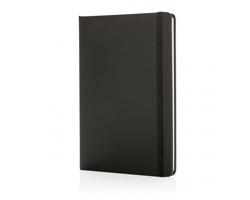 Poznámkový blok v tvrdých deskách FOSS, formát A5 - černá