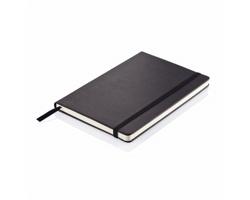 Poznámkový zápisník SNARES, formát A5 - černá