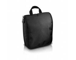 Toaletní taška BEVERLEE s háčkem - černá