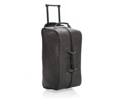 Cestovní taška TURKS s kolečky a teleskopickým madlem - antracitová