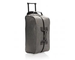 Cestovní taška TURKS s kolečky a teleskopickým madlem - šedá